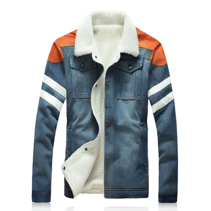 38.88$  Buy now - https://alitems.com/g/1e8d114494b01f4c715516525dc3e8/?i=5&ulp=https%3A%2F%2Fwww.aliexpress.com%2Fitem%2F2016-New-Winter-Jacket-Men-Fashion-Slim-Thick-Wool-Lining-Warm-Denim-Parka-Men-Single-Breasted%2F32753809037.html - 2016 New Winter Jacket Men Fashion Slim Thick Wool Lining Warm Denim Parka Men Single Breasted Winter Jeans Coat 38.88$