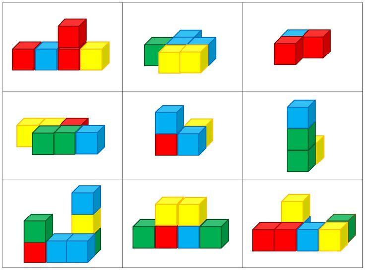 Kleur en vorm: Blokkenbouwsels
