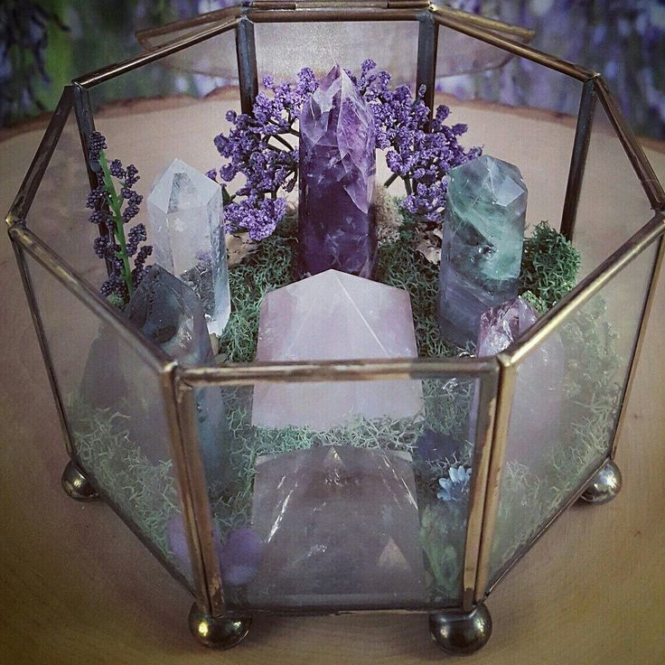 WoW! Isn't she pretty This is the newest Crystal Garden available at…