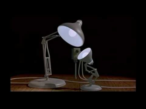 Pixar: Luxo Jr. original 1986 short film (HQ) - Use to teach the concept of personification in literature (a figure of speech in which abstractions, animals, ideas, and inanimate objects are endowed with human form, character, traits, or sensibilities) IE, in this short, the lamps are given emotions, are characters in a story, interact with each other, etc.)