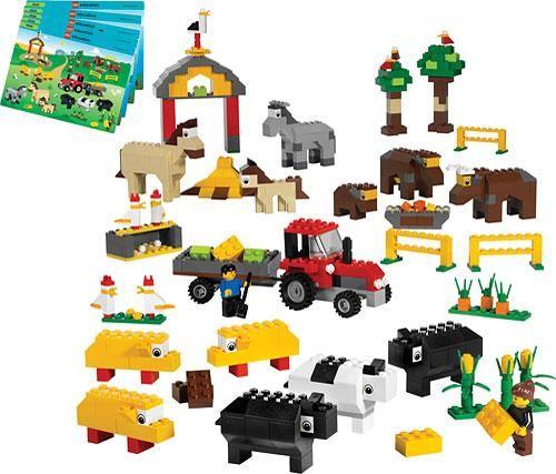 lego thema boerderij