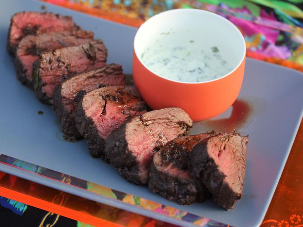 Red Wine-Marinated, Roasted Beef Tenderloin With Herb-Horseradish Cream | Serious Eats : Recipes