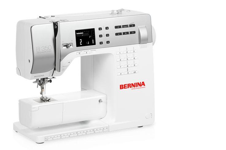 BERNINA 350 PE – precision sewing from the get-go - BERNINA - $1,899