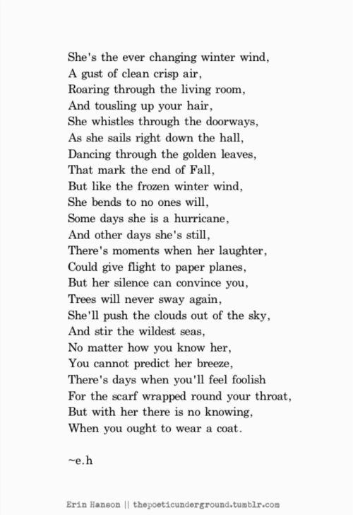 Winter Wind. thepoeticunderground.com  #poem #poetry
