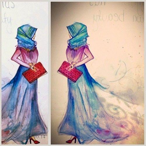 Amazing illustration! it looks like Vogue's :)