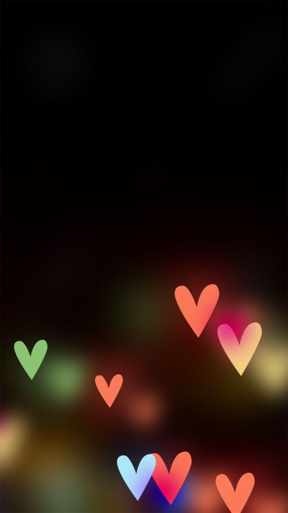 Hearts Bokeh Wallpaper iphone 6 Plus ♡ Pinterest : @uniquenaja ♡