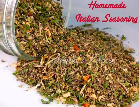 Make your own… Italian Seasoning