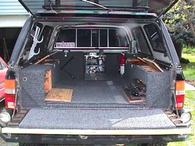 Truck bed toolbox truck bed ideas with bedcap by jamie baughman pinterest tools - Truck bed storage ideas ...