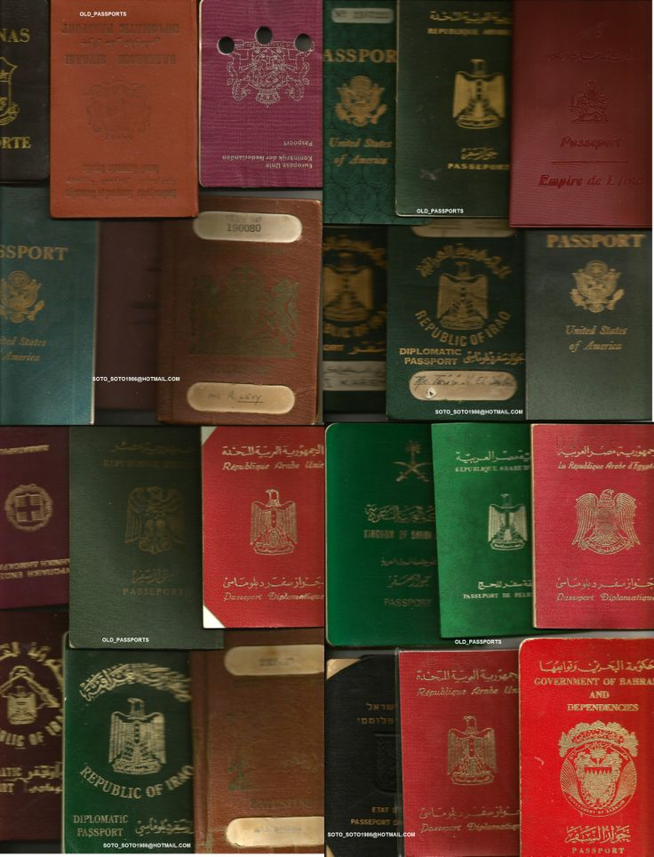 LOTS OF PASSPORTS.......DIPLOMATIC ,SPECIAL, SERVICE