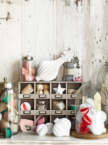 Utilize a pine storage unit to stash art supplies in style. #smartstorage #storageideas