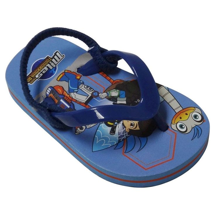 Toddler Boys' Miles From Tomorrowland Flip Flop Sandals - Blue, Toddler Boy's