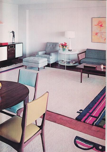 Decoration USA, Jose Wilson And Arthur Leaman, 1965. 1960s InteriorInterior  Design BooksVintage ...
