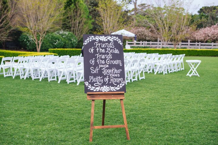 "Ceremony seating sign ""...sit together."" #seating #sign #chalkboard #ceremony"