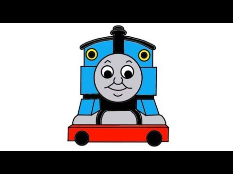 Itsy Artist - How To Draw Thomas The Tank Engine From Thomas And Friends Episodes In Full - YouTube