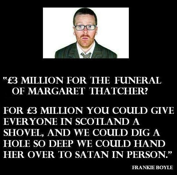 Frankie Boyle on Thatcher