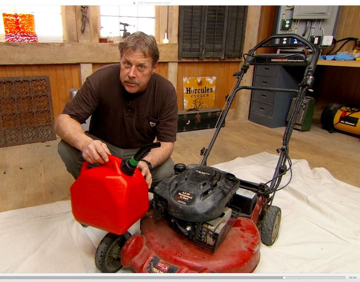 Five tips for keeping your lawn mower running smoothly with This Old House landscape contractor Roger Cook.