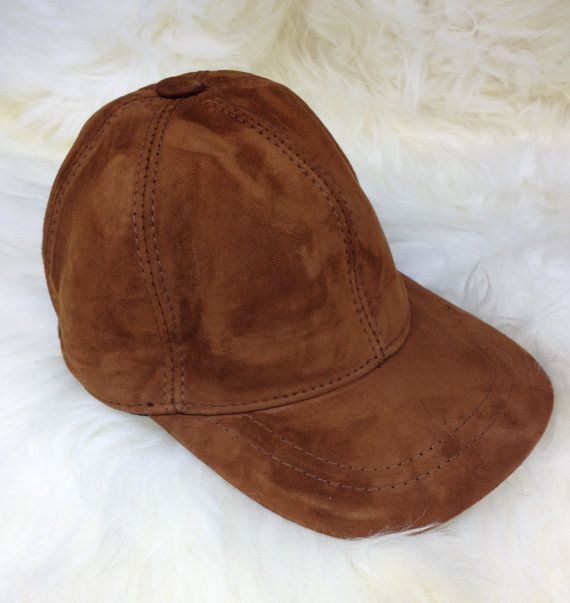 Real leather cap . by BeFur on Etsy, €18.50
