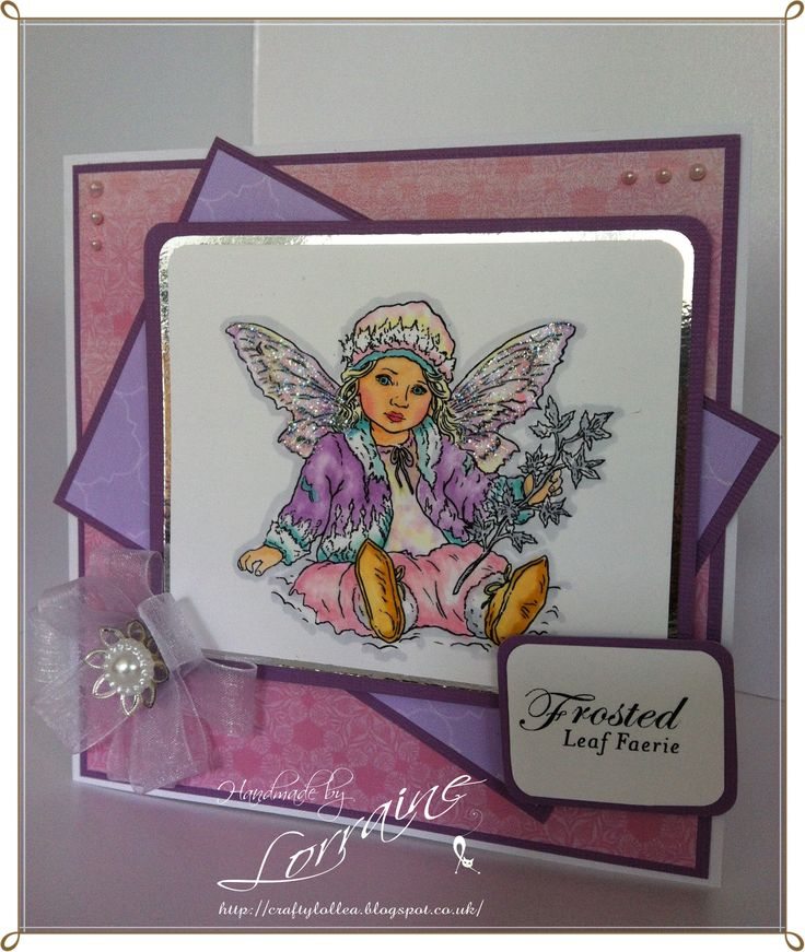 Winter Faerie Poppets CD Rom & Stamp http://craftylollea.blogspot.co.uk/