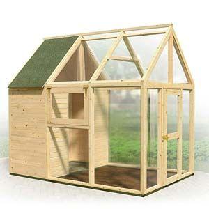 Les 25 meilleures id es de la cat gorie panneau polycarbonate sur pinterest - Plan de serre en bois et panneaux polycarbonate ...
