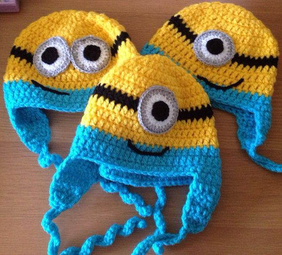 1000+ images about Minions on Pinterest Minion crochet, Knitting patterns a...