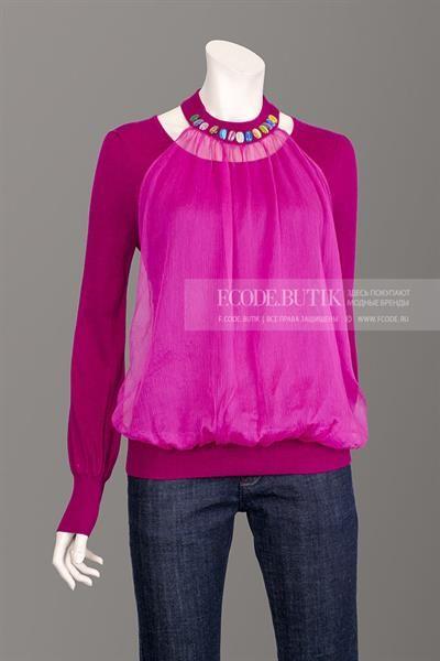 Розовый шелк кофта