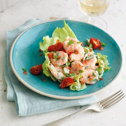 Prawn Salad recipe. For the full recipe, click the picture or visit RedOnline.co.uk