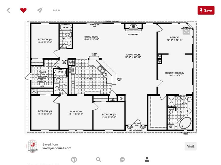 32 best Idee de plan images on Pinterest House floor plans