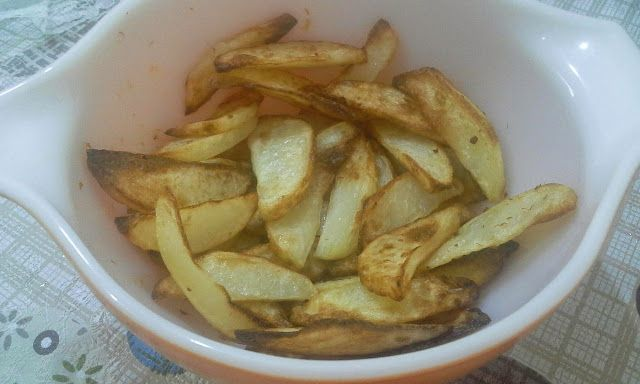 how to make potato crisps in airfryer