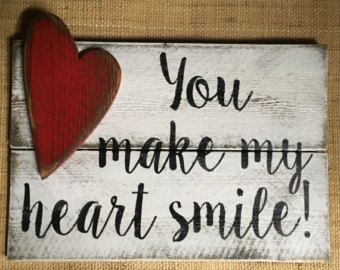 All of Me Loves All of You Wood Sign Handmade & by Chotchkieville                                                                                                                                                                                 More