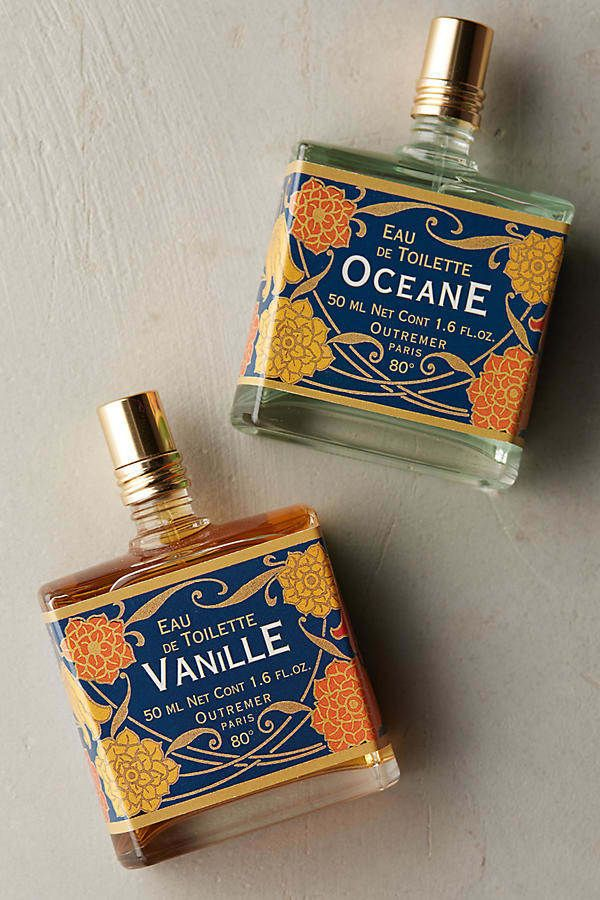It comes in two scents: a (not too sweet!) vanilla spice blend and a fresh ocean blend.Get it from Anthropologie for $18.Promising review: 'Beautiful scent and bottle. Unbelievably good price! So happy with this purchase.' —SFord