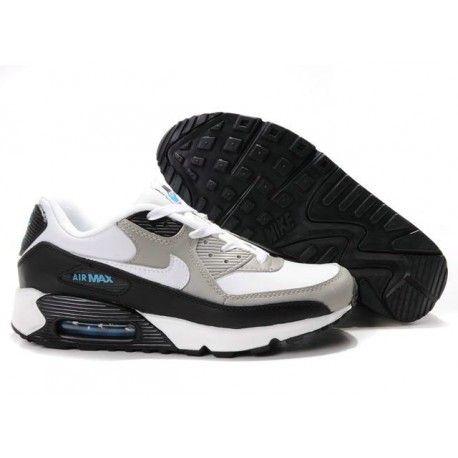 $61.85 black grey white air max 90,Mens Cheap Nike Air Max 90 Trainers Grey