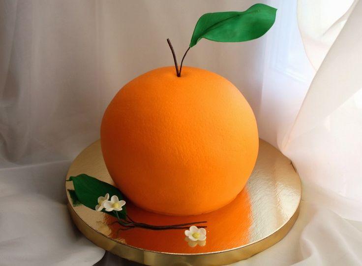 торт - апельсин