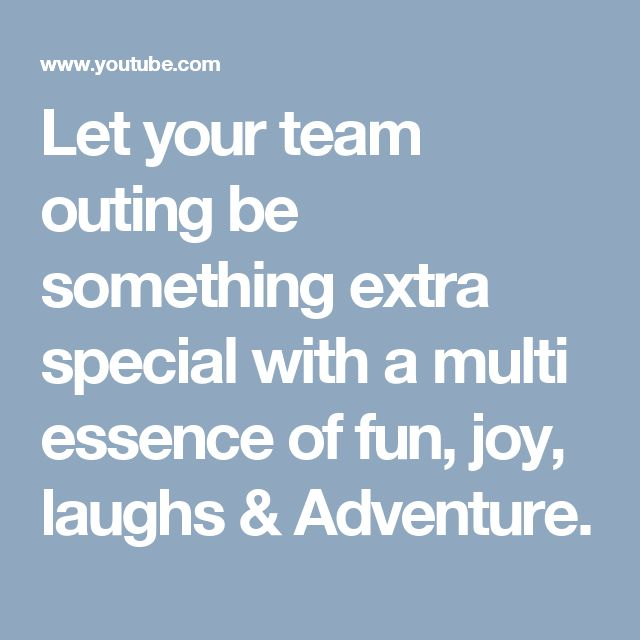 let your team outing be something extra special with a multi essence