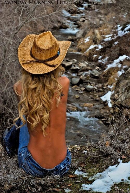 image Vrbangerselsa jean blond cowgirl teen rides dick