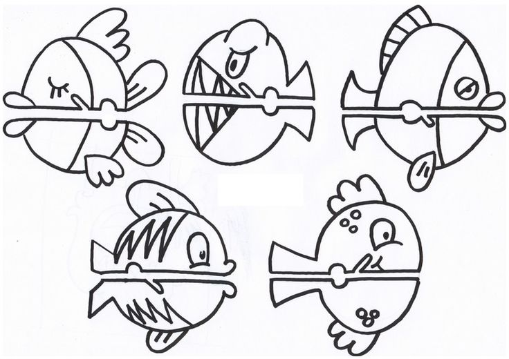 dibujos-de-peces-para-imprimir.jpg 760×537 píxeles