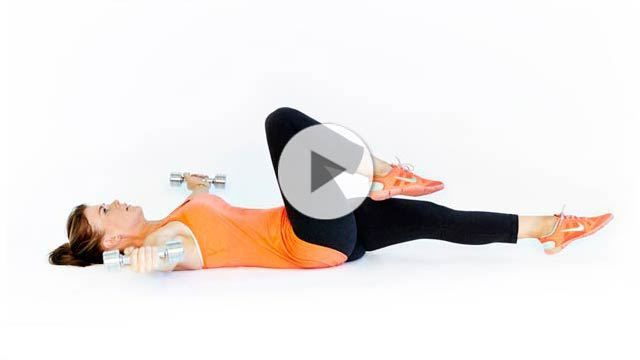 Want to save time at the gym? Try our multitasking move of the week demonstrated by Alison Sweeney, host of The Biggest Loser. | Health.com