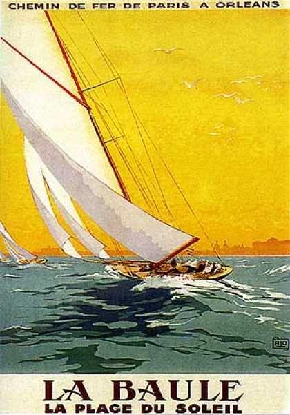 La Baule by Charles Allo (1930)