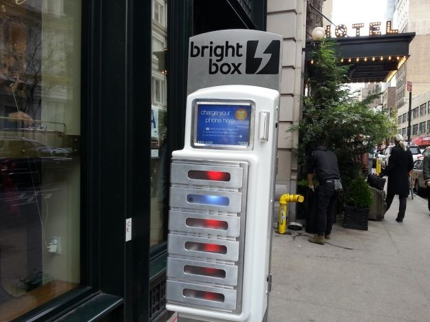 Phone charging stations