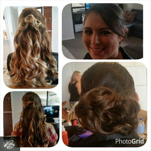 Wedding hair by Belle's Boutique Hair