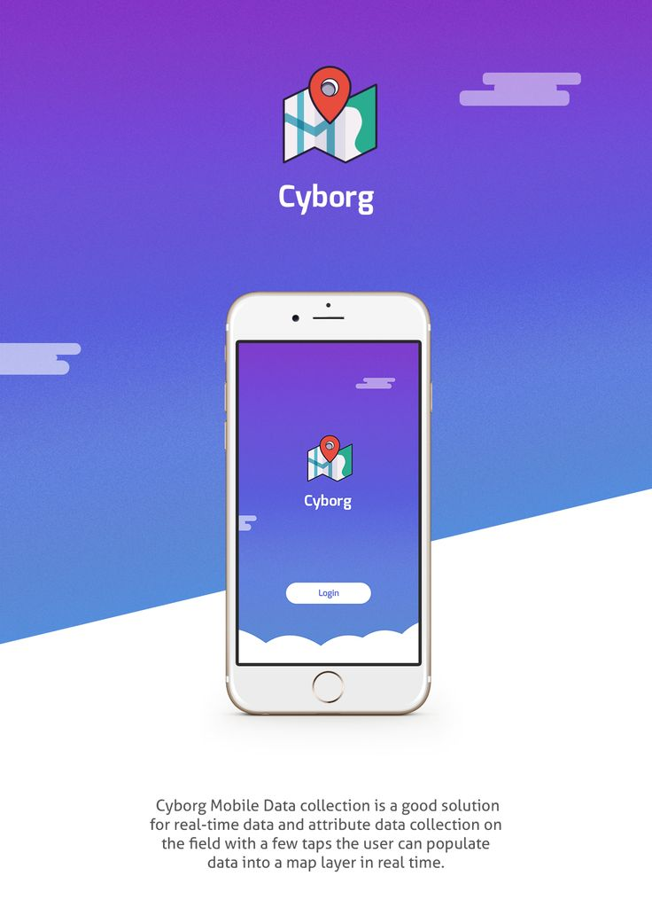 """Check out my @Behance project: """"Cyborg - Mobile App Design"""" https://www.behance.net/gallery/40095655/Cyborg-Mobile-App-Design"""