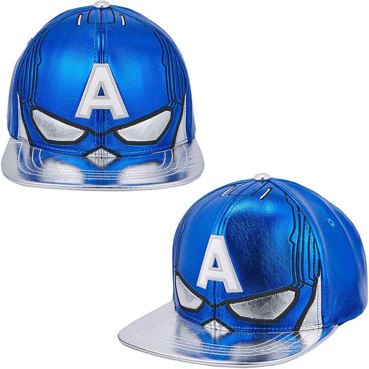 Mens Womens Marvel Avengers Civil War Captain America Mask Baseball Snapback Hat #Marvel #BaseballHiphopHatCap