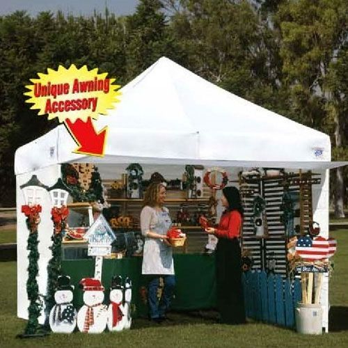 E Z Up 10 X 10 Canopy Package 4 Sidewalls Crafts