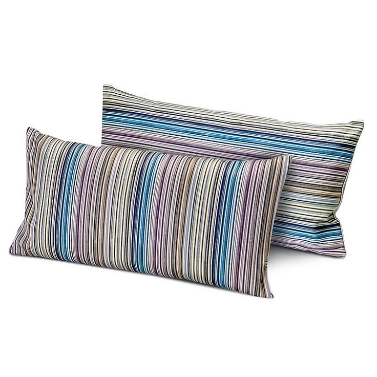 top3 by design - Missoni Home - coomba cushion aqua 70 30x30