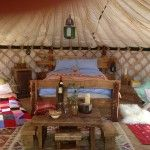 Glamping and Wild camping Northumberland with Wild Northumbrian