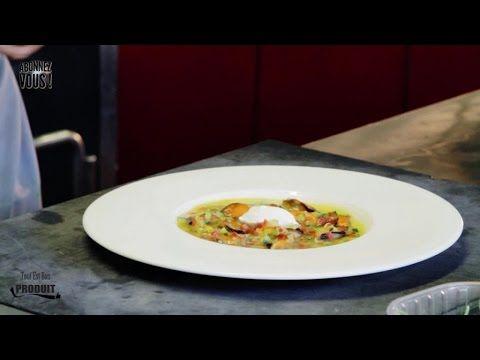 Recette des moules en fine gelée - Pierre Augé de Top Chef - YouTube