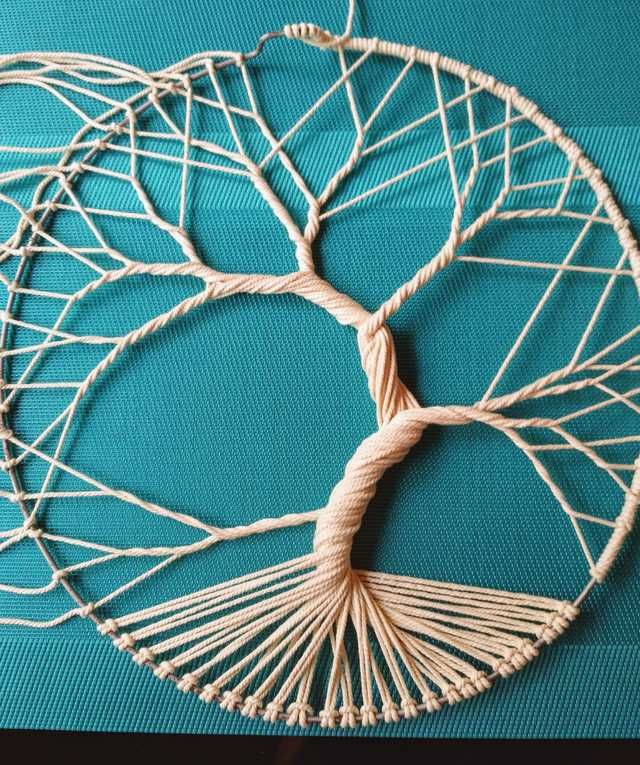 How To Make A Tree Of Life With Rope Macrame Patterns