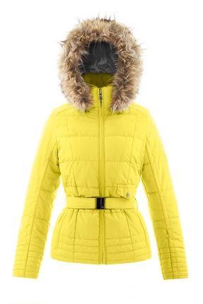 Veste ski femme poivre blanc solde