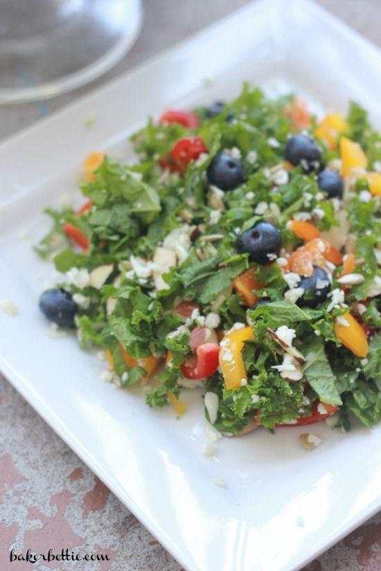SuperFood Kale Salad - Baker Bettie