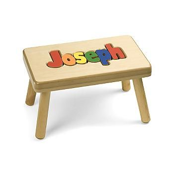 Ross Simons Personalized Puzzle Stool 703540 Kids