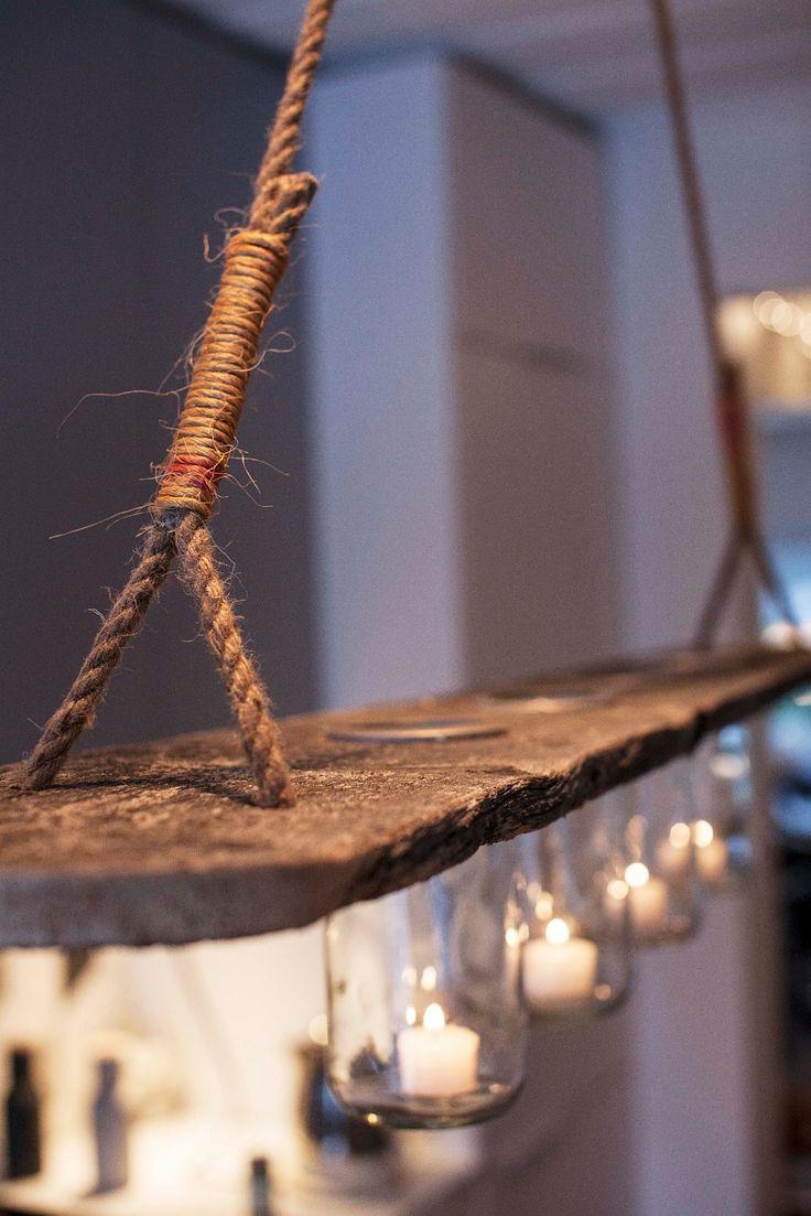 FINN – Nostalgisk lampe av norgesglass